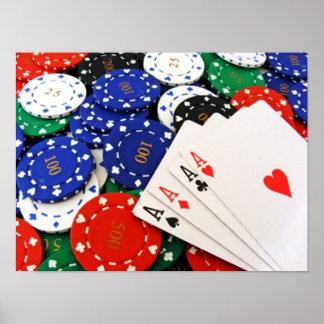 Poker Print