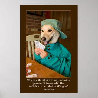 Poker Poster (Dog)