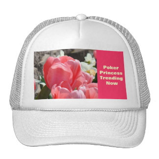 Poker Princess Hats Trending Now Pink Spring Tulip
