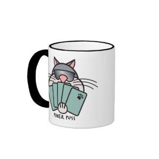 Poker Puss Mug