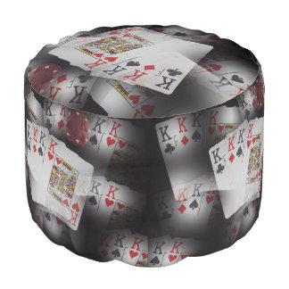 Poker_Quad_Kings_Layered_Pattern_Full_Print_Pouffe Pouf