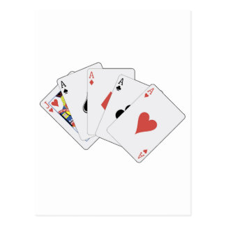 POKER - Read em and weap Post Card