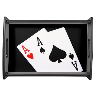 Poker Service Tray