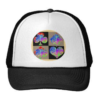 Poker Set Graffiti Lovers Round Cap