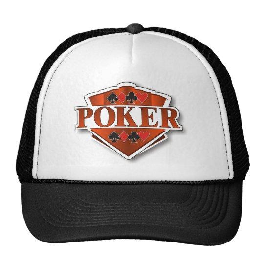Poker Shield Cap