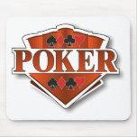 Poker Shield Mousepad