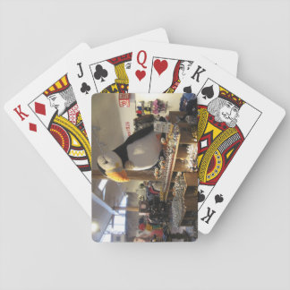 Poker Size Playing Cards With Lundy Shop Scene
