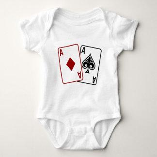 Poker Star Baby Bodysuit