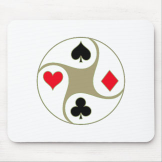 Poker Suits Mousepad