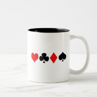 Poker Suits Mug