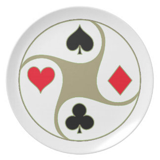 Poker Suits Part Plates