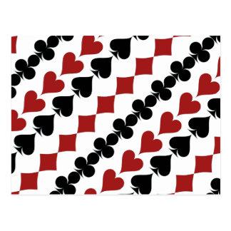 Poker Symbols Postcard