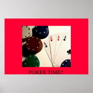 POKER TIME!! POSTER