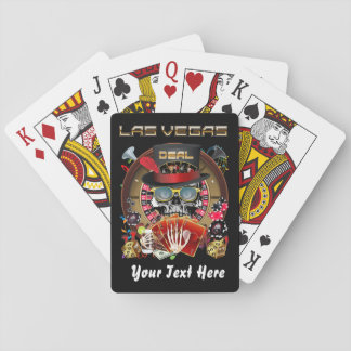 Poker Vegas Style Important View About Design Playing Cards