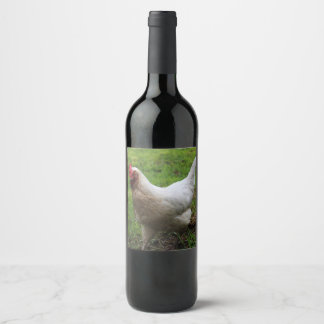 Pokey the Hen Wine Label