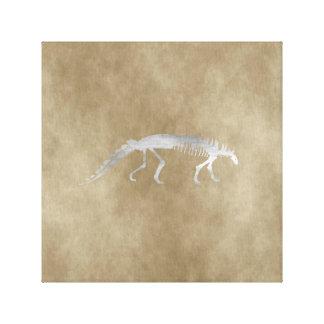 polacanthus skeleton canvas print
