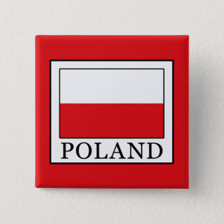 Poland 15 Cm Square Badge