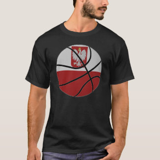 Poland Basketball T-shirt
