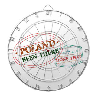 Poland Been There Done That Dartboard