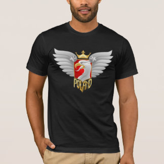 Poland Biker Design T-Shirt