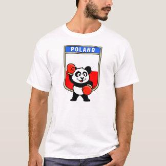 Poland Boxing Panda T-Shirt