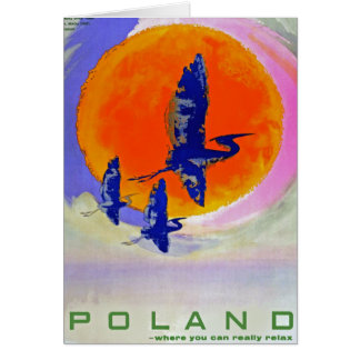 Poland Greeting Card