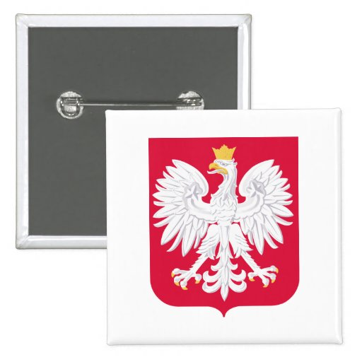 Poland Coat of Arms Button