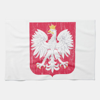 Poland Coat Of Arms Kitchen Towel
