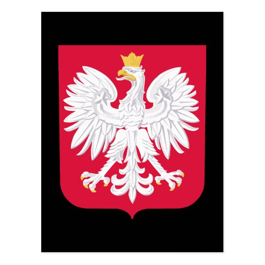 Poland Coat of Arms Postcard