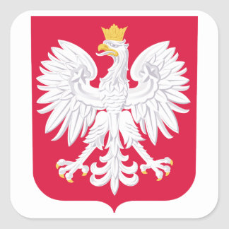 Poland Coat Of Arms Stickers