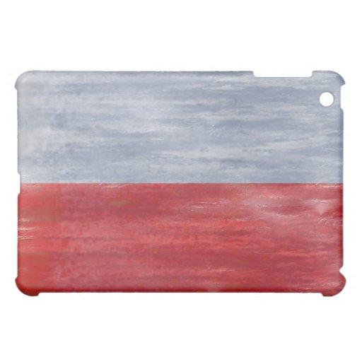 Poland distressed Polish flag iPad Mini Case