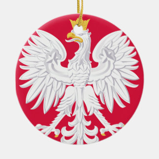 POLAND* Eagle Christmas Ornament