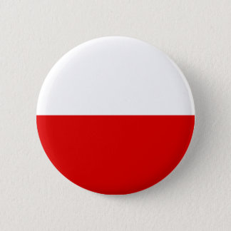 Poland Flag 6 Cm Round Badge