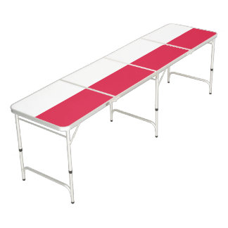 Poland Flag Beer Pong Table