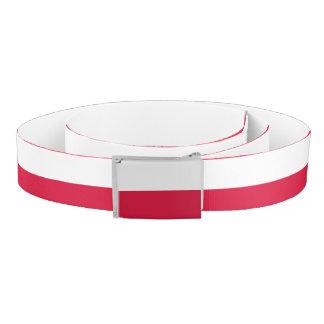 Poland Flag Belt