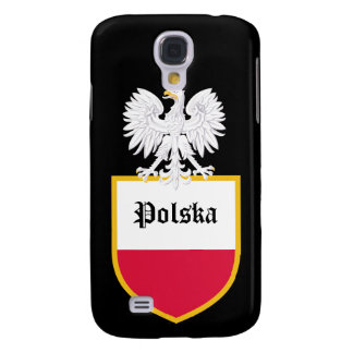 Poland Flag Samsung Galaxy S4 Covers