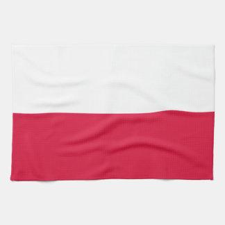 Poland Flag Tea Towels