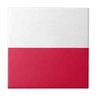 Poland Flag Tile