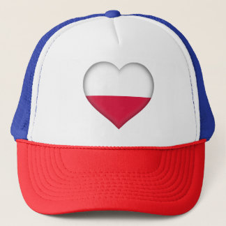Poland Flag Trucker Hat