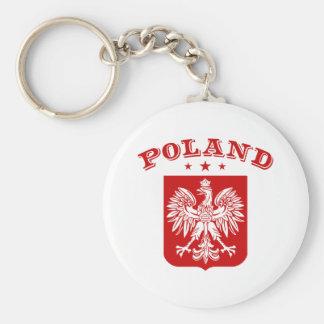 Poland Keychains