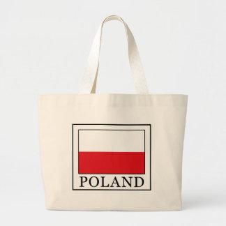 Poland Large Tote Bag