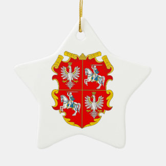 Poland-Lithuania Commonwealth (Rise of Roses) Ceramic Star Decoration