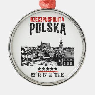 Poland Metal Ornament