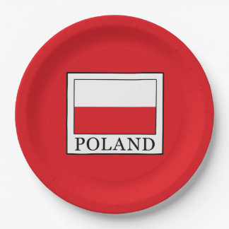 Poland Paper Plate