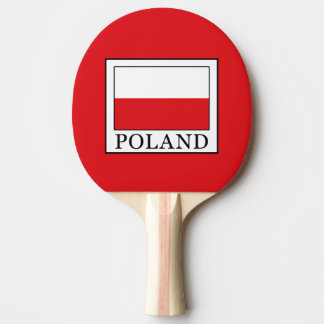 Poland Ping Pong Paddle