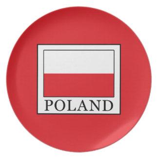 Poland Plate
