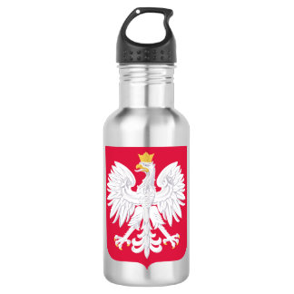 Poland Polish coat of arms 532 Ml Water Bottle