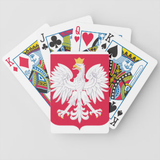 Poland Polish coat of arms Bicycle Playing Cards