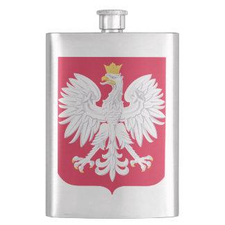 Poland Polish coat of arms Hip Flask