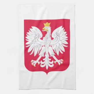 Poland Polish coat of arms Kitchen Towels